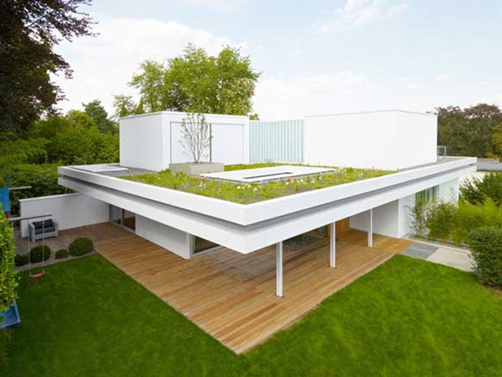 Flat roof design for modern home 4 home ideas for Apartment roof design