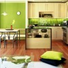 Green Beautiful Modern Kitchen Color Idea