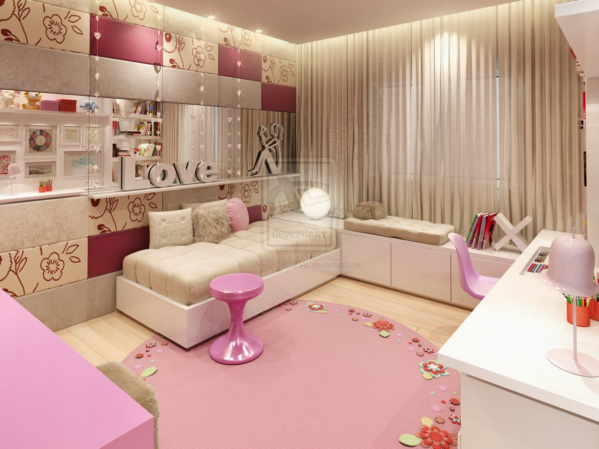 Charmant How To Make Girl Bedroom Look Beautiful