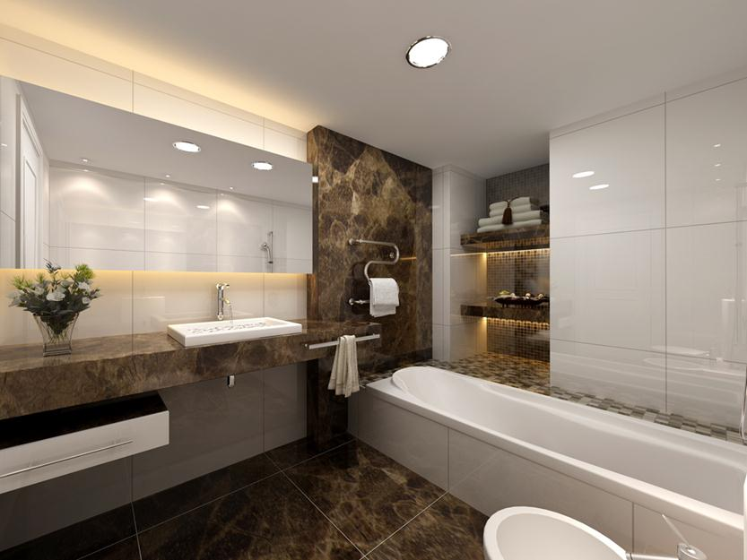Impressive Small Bathroom Design For Modern Home