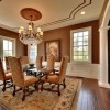 Luxury Brown Dining Room Color Scheme