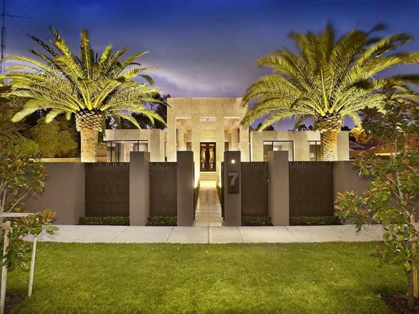 Luxury Fence Design For Tropical Home