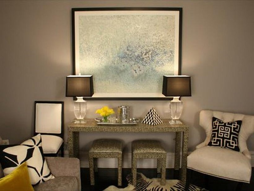 Luxury Gray Living Room Paint Color