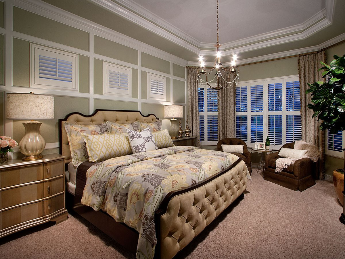 Luxury Interior Design For Master Bedroom