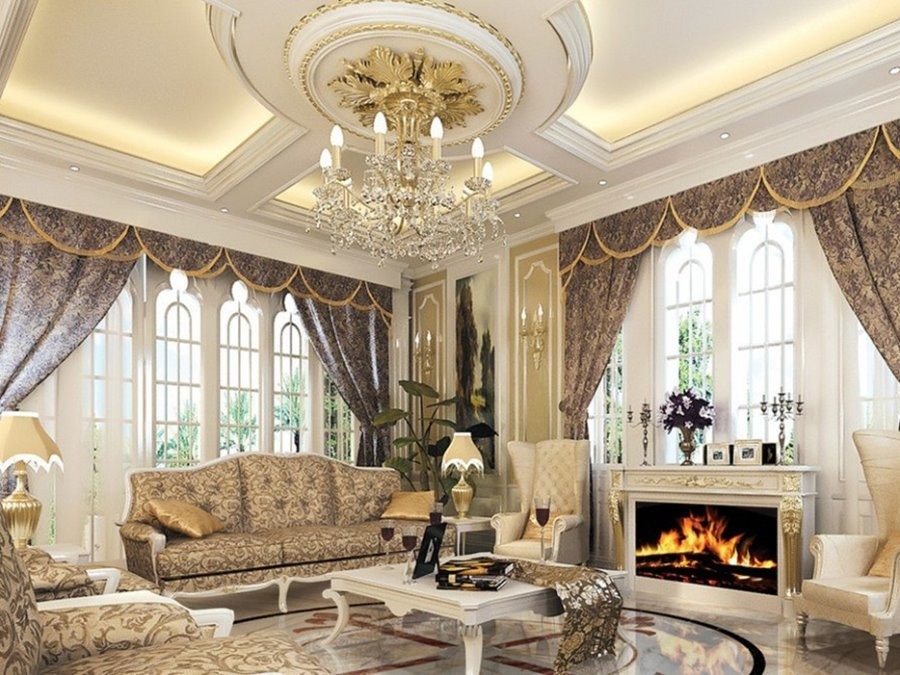 Luxury Living Room Ceiling Design 4 Home Ideas