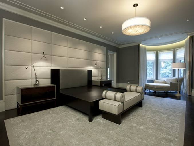 Luxury Master Bedroom With Minimalist Design