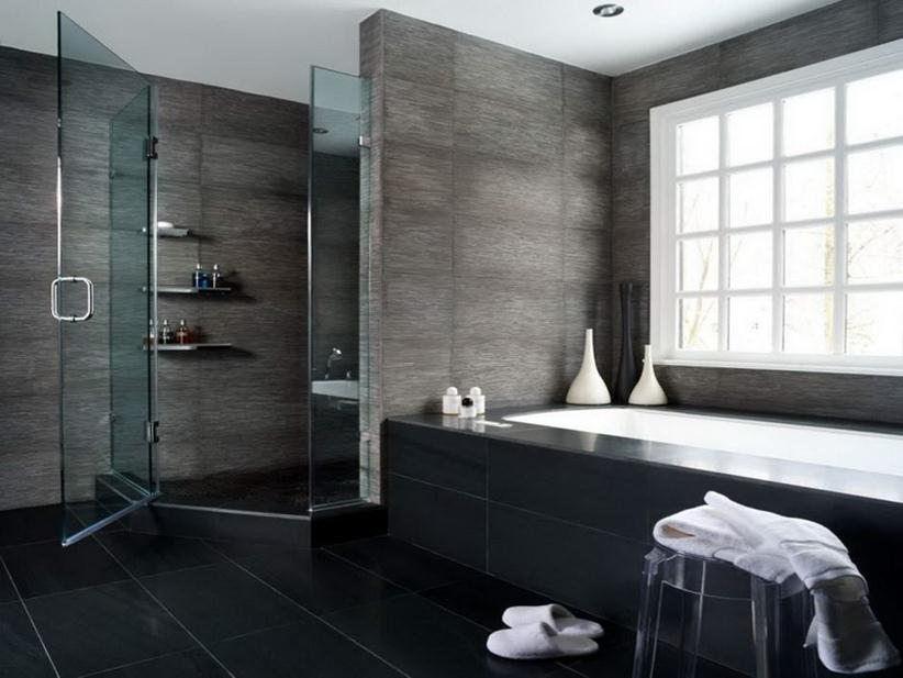 Luxury Minimalist Bathroom Storage Design