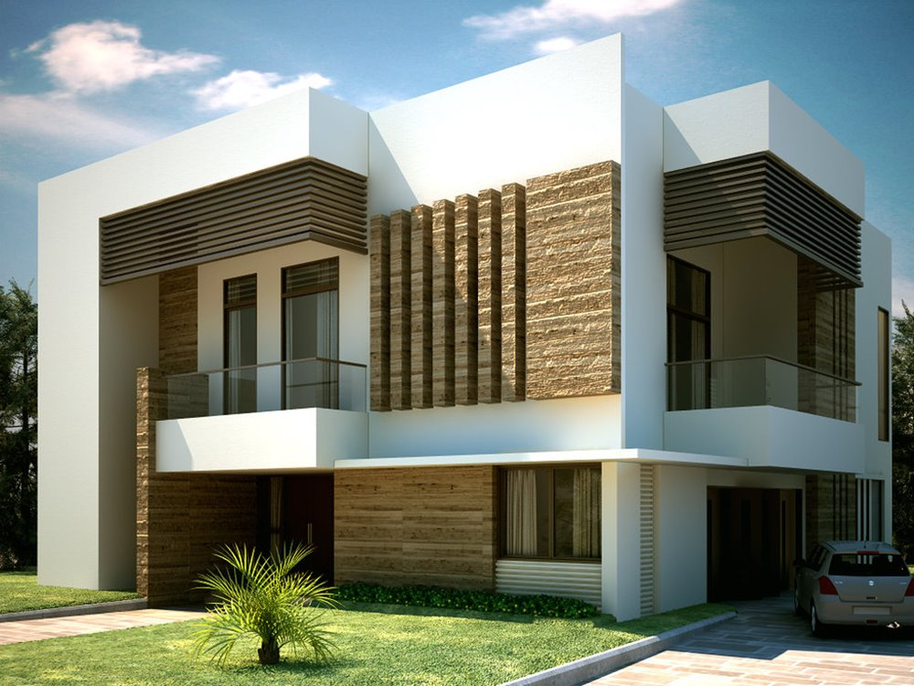 The advantage of simple modern homes with minimalist style for Simple house exterior design
