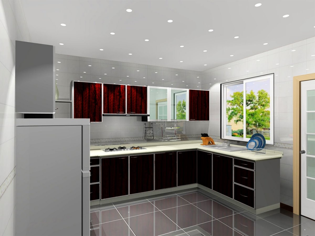 Color selection ideas for luxury modern kitchens home