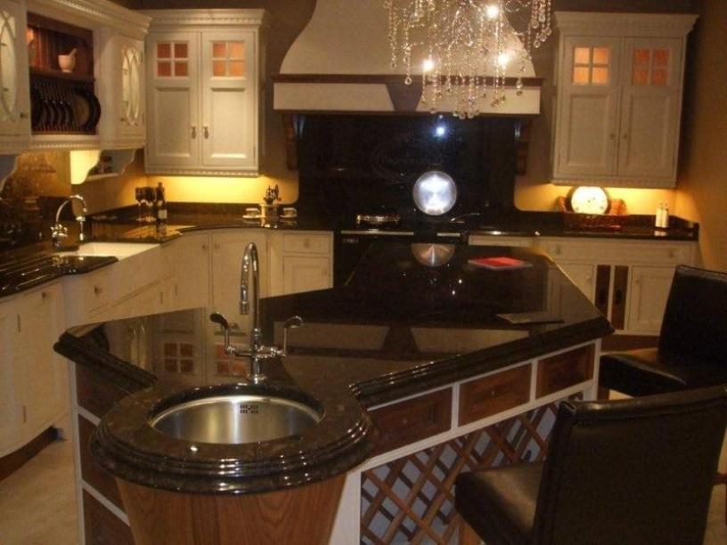 Luxury Modern Kitchen Furniture Set