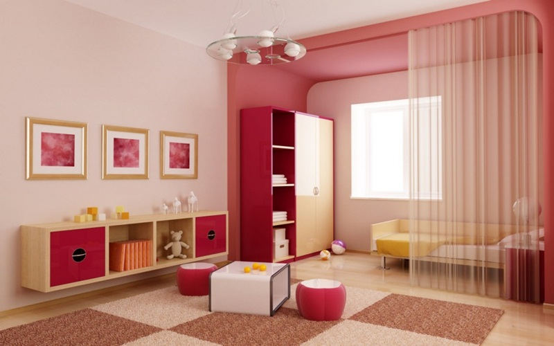 Luxury Paint Color For Kid Bedroom