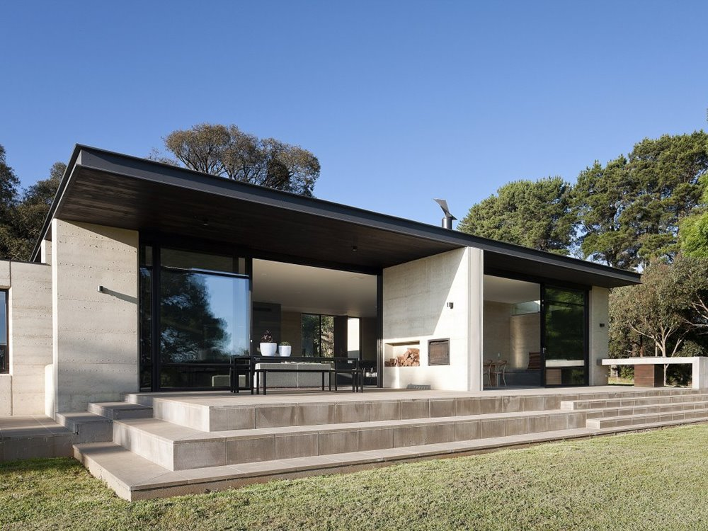 Roof Design Ideas: Minimalist Home Design With Flat Roof