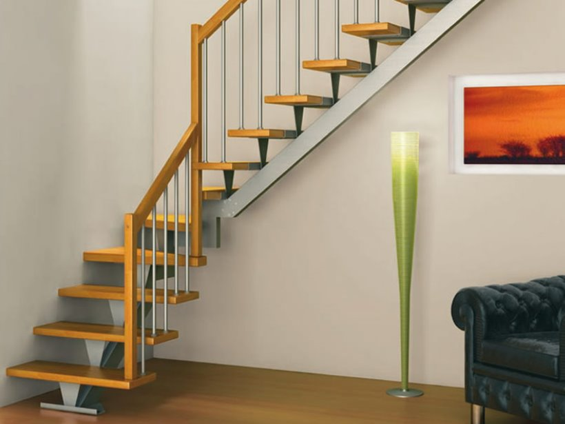 Minimalist L Shape Home Stairs Design
