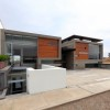 Modern House With Flat Roof Design
