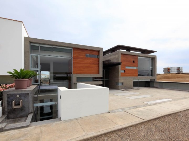 Modern house with flat roof design 4 home ideas Contemporary flat roof designs