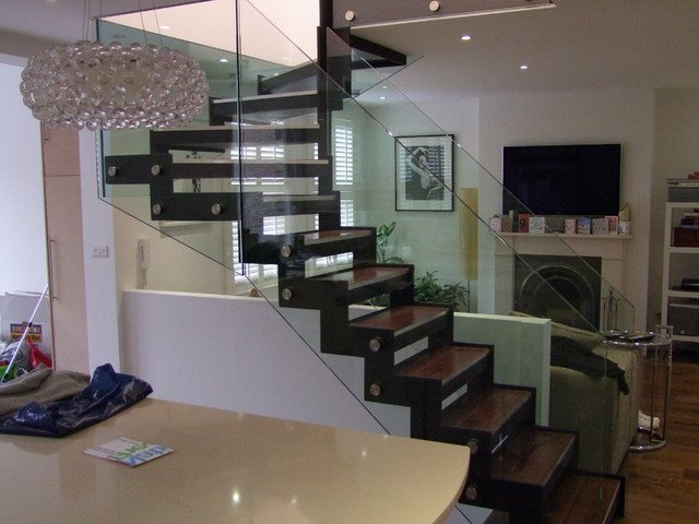 Modern Stairs With L Shape