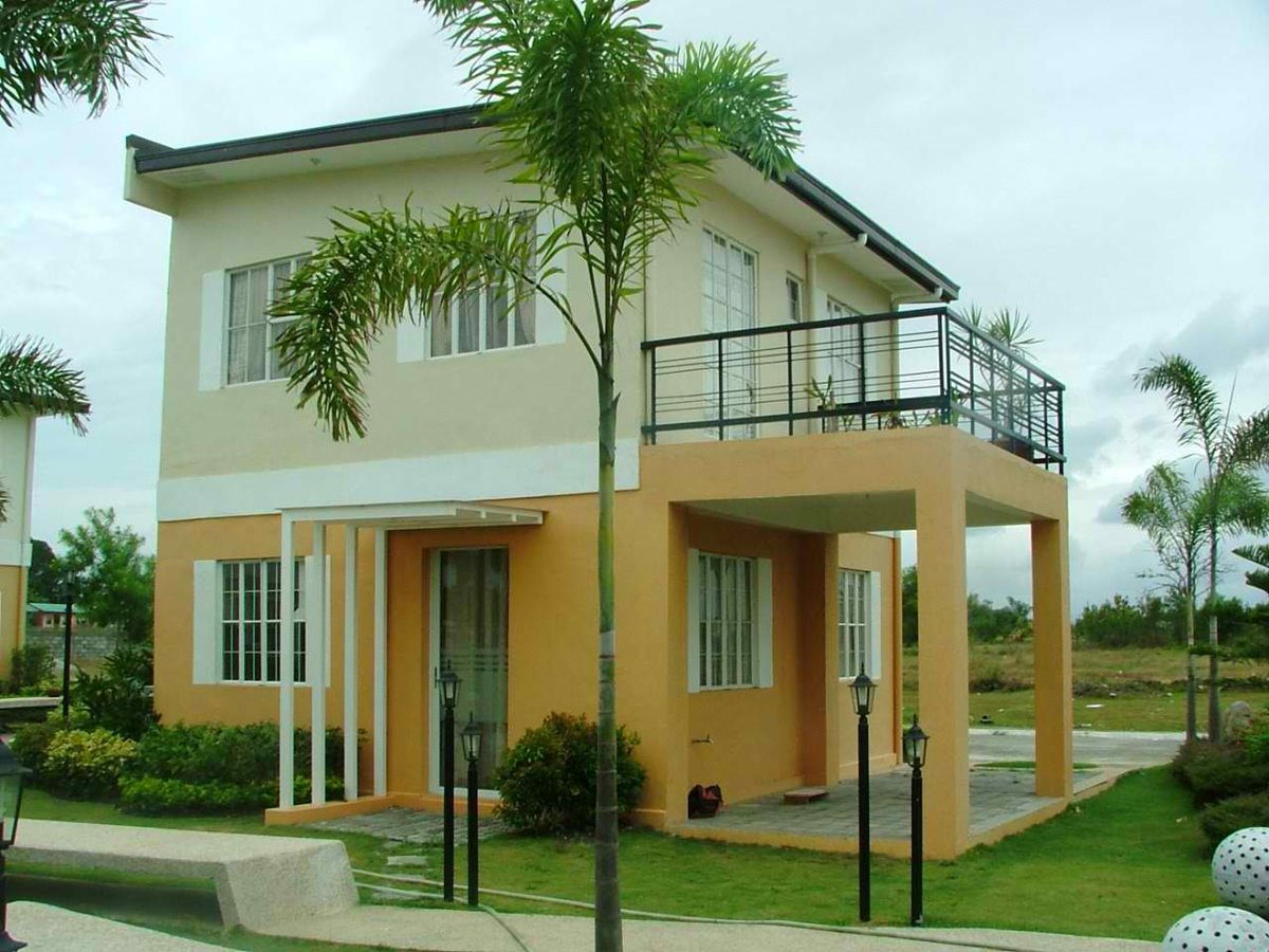 Nice 2 storey minimalist home exterior 4 home ideas for Small house exterior design philippines