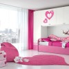 Pink White Bedroom Color Scheme