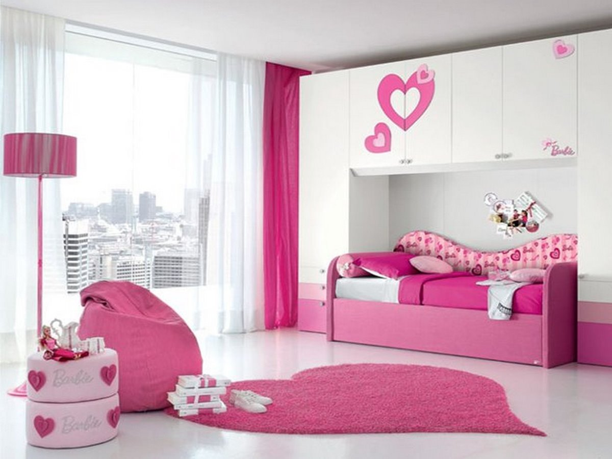 Pink White Bedroom Color Scheme - 4 Home Ideas