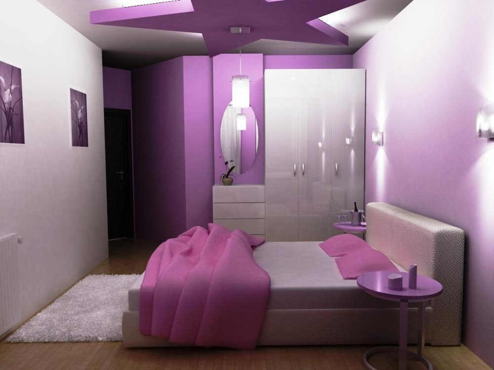 Romantic Basement Bedroom Color Scheme