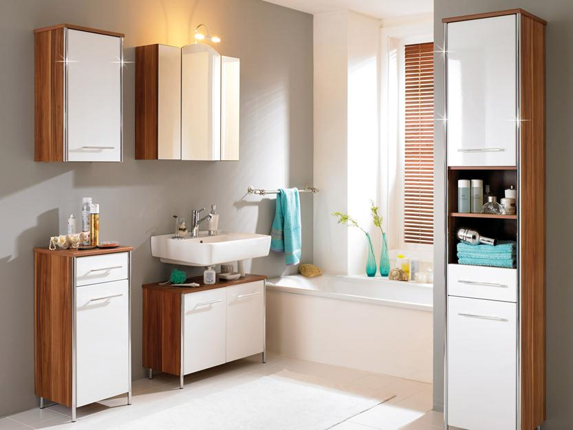 Simple Bathroom Storage With Minimalist Style