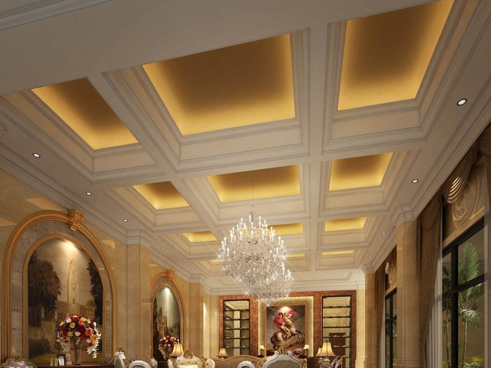Simple Ceiling Design For Luxury Home