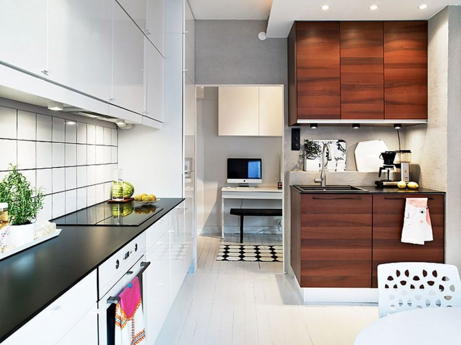 Simple modern contemporary kitchen decor 4 home ideas for Simple modern kitchen design