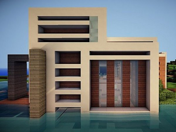 Simple modern houses modern house for Minimalist house tips