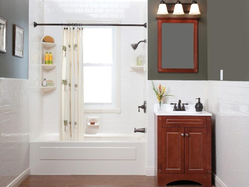 Simple Master Bathroom Designs: Decorating Tips For Small Master Bathroom Design