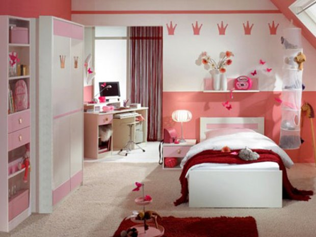 ideas decorating bedroom children girly decor home room for