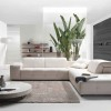 White Living Room Sofa Design