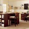 Wooden Furniture For Modern Contemporary Kitchen Decor