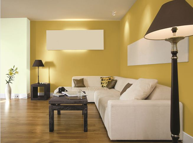 Yellow Paint For Small Living Room