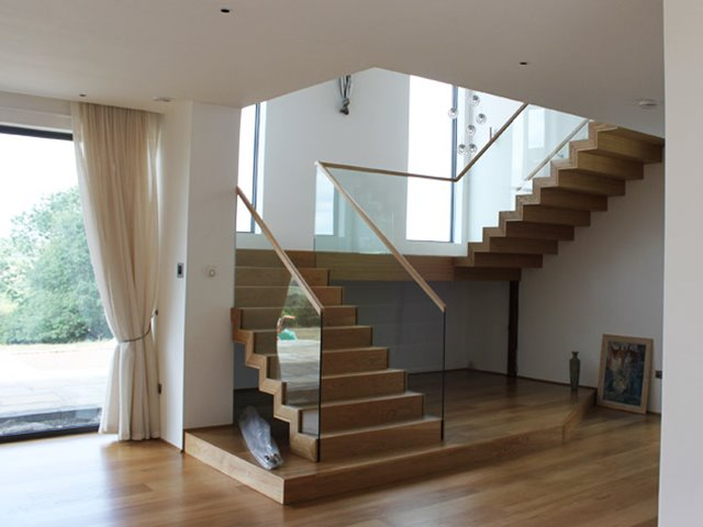Modern Stairs With L Shape 4 Home Ideas