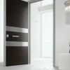 Elegant Minimalist Black Door Design