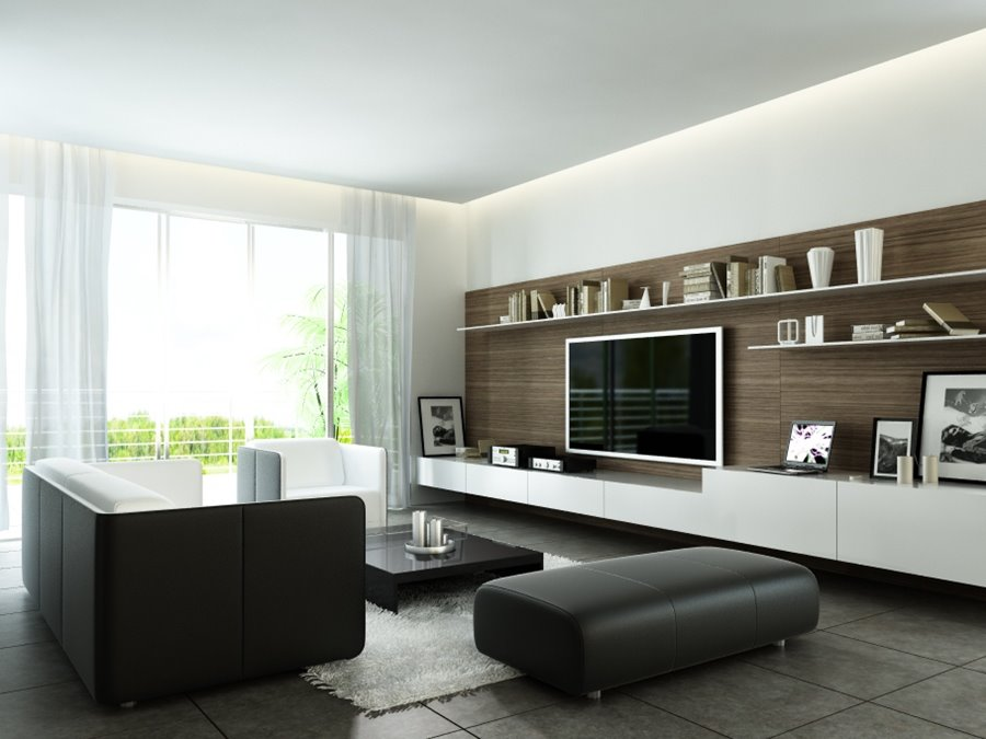 Minimalist basement living room ideas 4 home ideas for Living room design modern minimalist