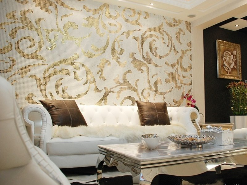 Beautiful Living Room Wallpaper Decorating Ideas | 4 Home Ideas
