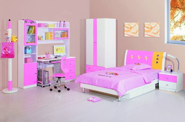 Furniture Design To Decorate Children Bedroom