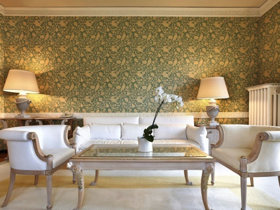 Luxury Living Room Wallpaper Decoration - 4 Home Ideas