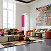 Minimalist Colorful Living Room Decoration