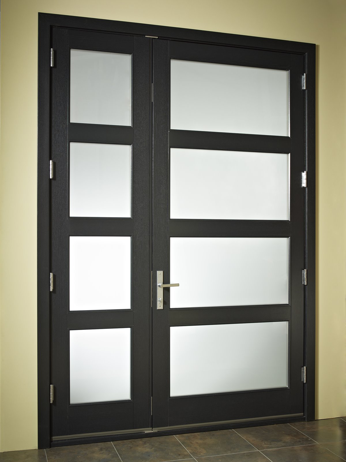Minimalist Design Idea For Home Door