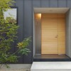 Minimalist Wooden Door Design For Modern Home