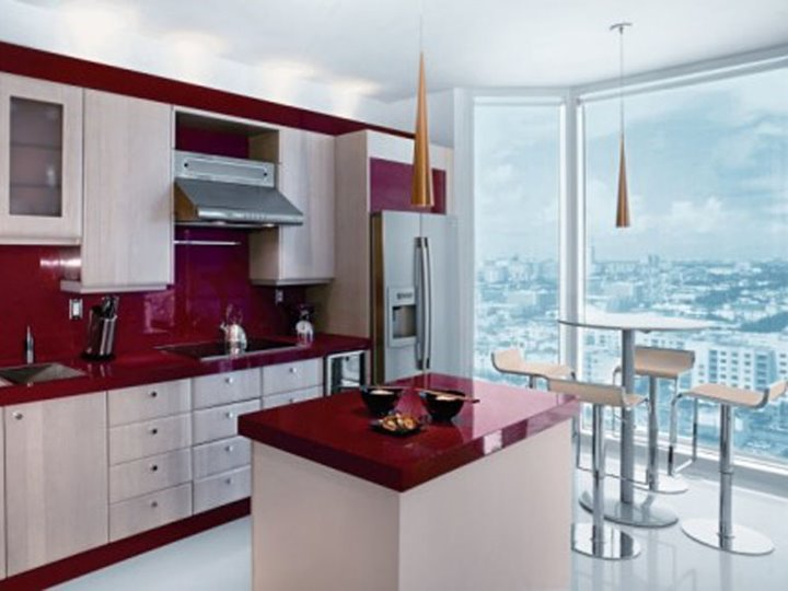 Small modern kitchen ornamental small kitchen interior for Beautiful modern kitchens