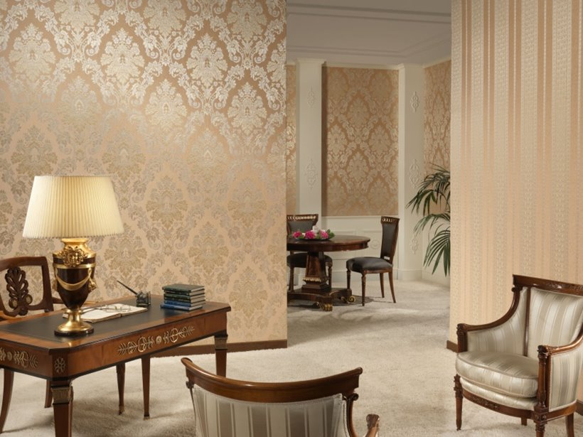 Marvelous Beautiful Living Room Wallpaper Part - 7: Wallpaper Design To Make Living Room Beautiful