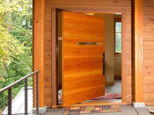 ... Wonderful Wooden Door Design Idea ...